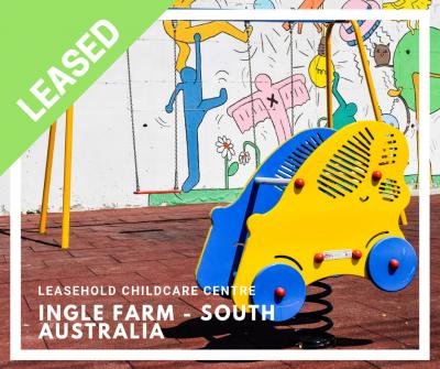 INGLE FARM - Leasehold Childcare Centre Business
